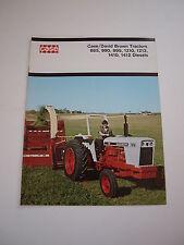 Case David Brown 885 990 995 1210 1212 1410 1412 Tractor Brochure 16 pg MINT '74
