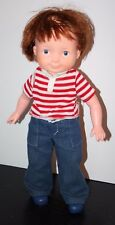 "1981 Vintage Fisher Price - My Friend Mikey doll Euc Freckled face, 16"" tall"