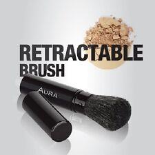 Aura cosmetici RETRATTILE Powder Brush-CASSA IN METALLO