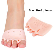 Orthotic Toe Straighteners Gel Silicone Separator Hammer Bunion Corrector Relief