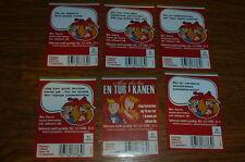 DE..WEIHNACHTEN-CHRISTMAS DENMARK  6 OLD Etikette-beer labeL nr880