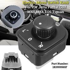 Power Mirror Control Switch 1K0959565F For VW Jetta Passat B6 EOS Golf 5