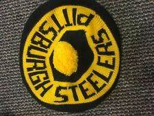 VINTAGE PITTSBURGH STEELERS NFL OFFICIAL BERET WITH POM POM HAT
