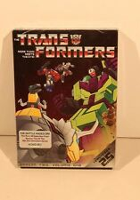 TRANSFORMERS: SEASON 2/VOLUME 1-ANN.ED.-NEW/SEALED 4 ANIMATED DVD SET