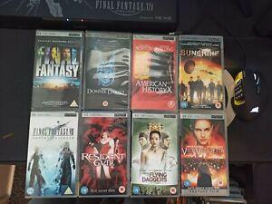 8X Playstation Portable PSP UMD movies Final Fantasy Resident evil Sunshine