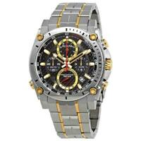 Bulova 98B228 Precisionist Men's Chronograph Two-Tone Stainless Steel Watch
