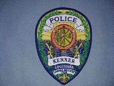 Kenner Police Patch