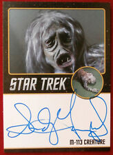 Star Trek Tos 50th Sandy Gimpel as M-113 Creature Limited Edition Autograph Card