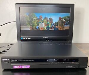 Sony RDR-GX355 Upscale DVD Player Recorder 1080i HDMI Tested working No remote