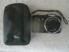 Canon PowerShot SX160 IS 16 MP Digital Camera Image stablizer Black tested works