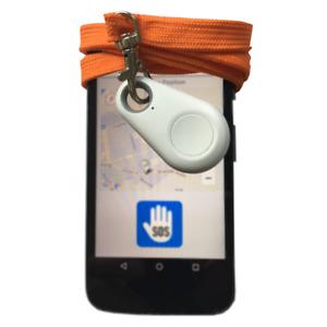 Notfallknopf pe-SOS für Smartphones