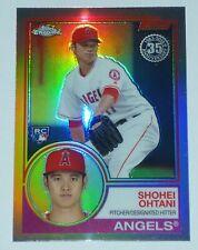 Shohei OHTANI rc 2018 Topps Chrome 35th Anniversary REFRACTOR #83T-6 rookie