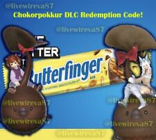 Butterfinger Bar w/ Final Fantasy XIV Chocorpokkur Mount Code Ready! FF14 - DLC
