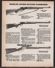 1986 MARLIN 444SS, Golden 39A & 39M Lever-Action Carbine AD