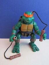 Tmnt Ninja acción Mikey Michaelangelo Figura de Acción 2004 Teenage Tortuga 980
