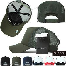 S~M, XL~2XL Men Womens Plain Blank Mesh Trucker Baseball Caps Snapback Solid Hat