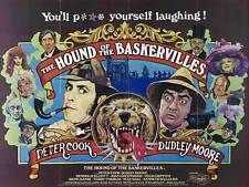THE HOUND OF THE BASKERVILLES Movie POSTER 22x28 Half Sheet B Basil Rathbone