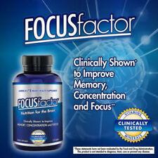 FOCUS Factor Brain Supplement 150 ct  Memory,Concentration, Focus