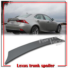 Painted Color LEXUS IS250 IS300h Sedan V Type Trunk Boot Spoiler 14-18 IS350