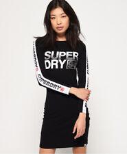 Superdry Womens Bodycon Graphic Mini Dress