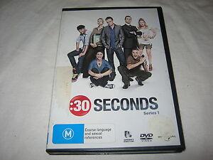 :30 SECONDS - SEASON 1 - EX RENTAL DVD - REGION 4
