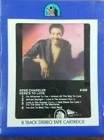 """GENE CHANDLER """"HERE'S TO LOVE"""" - 8 track tape - SEALED NEW -"""