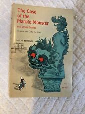 The Case of the Marble Monster  IG Edmonds 2nd Printing book nice condition 1967