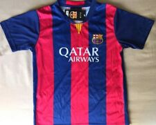NWT FC Barcelona Messi Jersey Soccer Size 30 Small Unicef Number 10 Multicolor