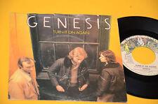 """GENESIS 7"""" 45 TURN IT ON AGAIN 1°ST ORIG ITALY 1980"""