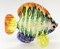 Miniature Morwong Fish Hand Blown Glass Blowing Art Animal Decor Handmade