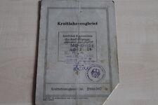 161716) DKW Meisterklasse KFZ-Brief 12/1951