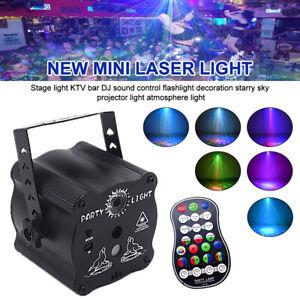 240 Pattern Laser Projector Stage Light LED RGB Party Club DJ Disco Xmas Lights