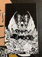 DC DARK NIGHTS METAL #3 TORPEDO COMICS B/W GREG CAPULLO VIRGIN VARIANT COVER NM+