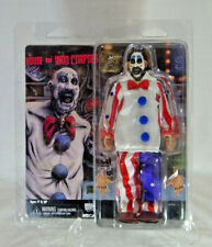 "CAPTAIN SPAULDING 8"" CLOTHED ACTION FIGURE HOUSE OF 1000 CORPSES NECA RARE"