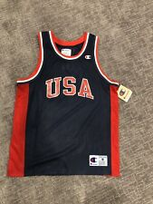 VTG Champion Michael Jordan #9 USA Jersey NBA Basketball Throwback Dream Team M