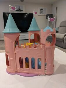 My Little Pony Vintage G1 Dream Castle with some accessories