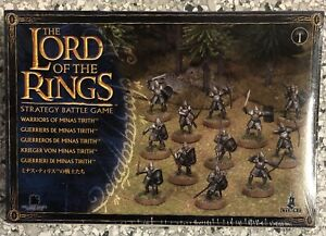 The Lord of the Rings - LoTR - Warriors of Minas Tirith - New in Shrink Wrap