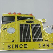 Autocar 120 year Anniversary emblem keychain (D4)