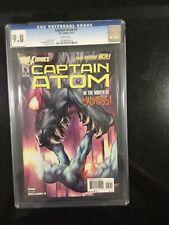 CAPTAIN ATOM # 5 / The new 52! / CGC Universal Grade / March 2012 / DC COMICS
