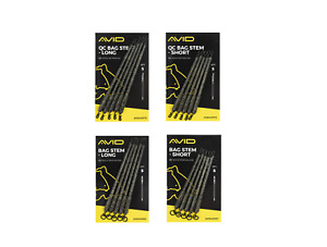 Avid Carp Outline Solid Bag Stems 5 Per Pack All Types Available New
