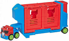 Transformers Rescue Bots Academy Flip Racers Optimus Prime Trailer