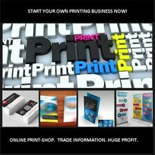 COMPLETE  PRINTING  BUSINESS WITH  ONLINE PRINT-SHOP + ONLINE PRODUCT DESIGNER