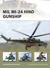 Mil Mi-24 Hind Gunship (New Vanguard)-ExLibrary