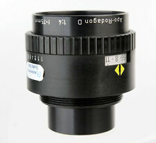 RODENSTOCK APO-RODAGON D 75 mm 1:4 m1:1 4/75 Enlarger Lens Comme neuf condition 1048658