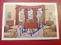 Signature Newt Gingrich Speaker of the House signed Oval Office Post Card auto