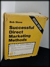 "Vintage 1979 HB Book ""Successful Direct Marketing Methods"" Bob Stone 2nd Edition"