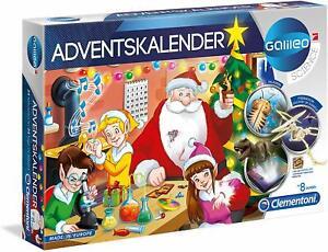 Clementoni Galileo Pro7 Science Adventskalender 59080 Kalender Experimente