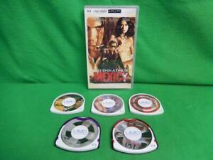 Sony PSP Lot of 6 UMD Movies Ultimate Avengers Punisher Boondock Saints Stargate