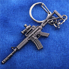 Cross Fire Mini Assault Rifles Submachine GUN Metal Keychain Keyring Collection