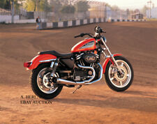 Harley-Davidson XL883R Sportster motorcycle photo motorcycle photograph photo
